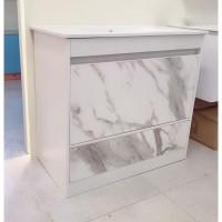 Vanity - Etham Series 1200mm - White Marble Pattern