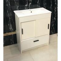 Vanity - Dekkor Series Plywood L700 Gloss White (Slim Top)  - 100% Water Proof