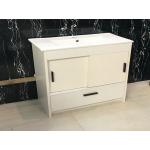 Vanity - Dekkor Series Plywood L900 Gloss White (Slim Basin) - 100% Water Proof