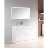 Vanity - Heron Series N1200F White Single Basin