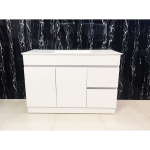 Vanity - Heron Series Plywood N1200F White - 100% Water Proof
