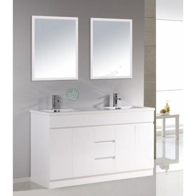 Vanity - Heron Series Plywood N1500F White Single/Double Basin 100% Water Proof