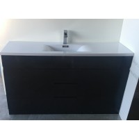 Vanity - Heron PVC Series N1500F Black Single/Double Basin 100% Water Proof