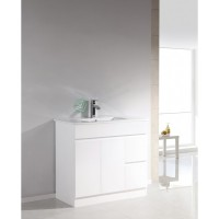 Vanity - Heron Plywood Series N900F White 100% Water Proof