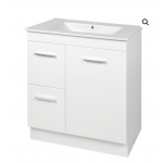 Vanity - Misty Series 700F Gloss White - 100% Water Proof