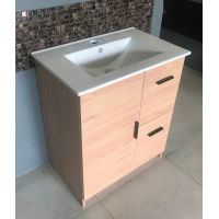 Vanity - Misty Series 700F Wooden Color - 100% Water Proof