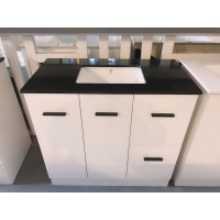 Vanity - Misty Series T1200F-AS Gloss White - 100% Water Proof