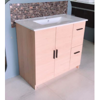Vanity - Misty Series 900F Wooden Color - 100% Water Proof