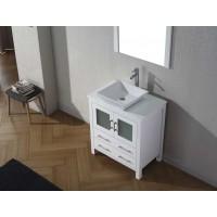 Vanity - Dekkor Series 900 White Quartz Stone Counter Top Set
