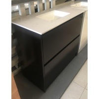 Vanity - Ethem Series 900 Black Coffee Color With Basin