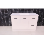 Vanity - Misty Series 1200F Gloss White - 100% Water Proof