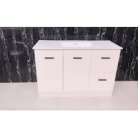 Cabinet - Misty Series Free Standing 1200mm White