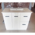 Vanity - Misty Series 900F Gloss White - 100% Water Proof