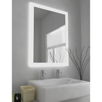 LED Mirror Frosted Edge Series 900X800