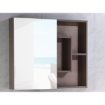 The European Bathroom Mirror Cabinet 100% WaterProof#8007