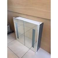Nova Series  600 Double Door Mirror Cabinet - With LED Lights