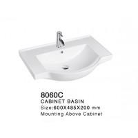Ceramic Cabinet Basin - Round Series 8060C