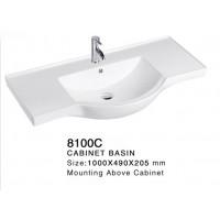 Ceramic Cabinet Basin - Round Series 8100C