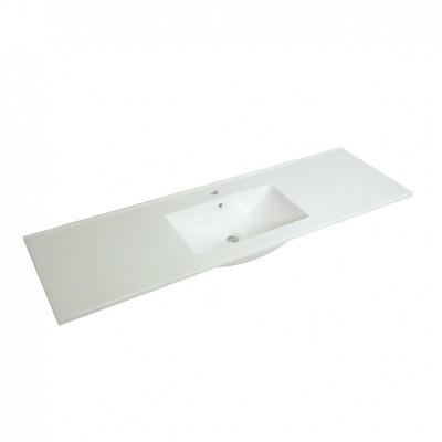 Acrylic Cabinet Basin - Rectangle Series 1500 Single