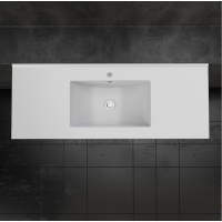 Ceramic Cabinet Basin - Rectangle Series 1200 Single
