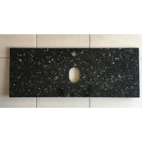 Vanity Tops - Black Quartz Stone 1200mm