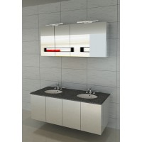 Vanity - Hudson Series 1450mm White Double Basin