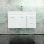 Vanity - Asron Plywood Series 700mm White 100% Water Proof