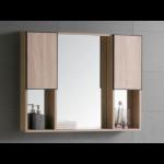 The European Bathroom Mirror Cabinet 100% WaterProof#7001