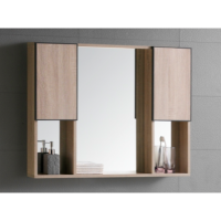 The European Bathroom Mirror Cabinet 100% WaterProof#7001