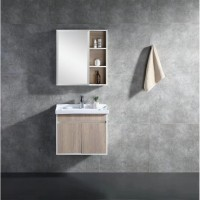 Vanity - Asron Series 600 Wood Grain And White