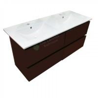 Vanity - Asron Series 1200mm Black Double Basin