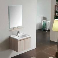 Vanity - Asron Series 600 Wood Grain And White