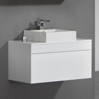 Vanity - Poli Series 900 White Quartz Stone Counter Top Set
