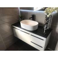 Vanity - Misty Series 1200 White Quartz Stone Counter Top Set - 100% Water proof