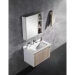 Vanity - Asron Series 800 Wood Grain And White