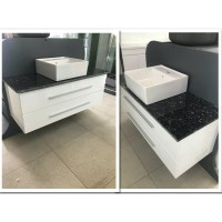 Vanity - Misty Series 1200 White Cabinet With Stone Top