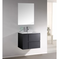 Vanity - Asron PVC Series 700mm Black 100% Water Proof