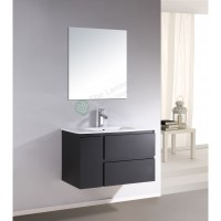 Vanity - Asron PVC Series 900mm Black 100% Water Proof