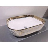 Counter Top Ceramic Basin 207 - Golden