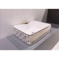 Counter Top Ceramic Basin 6005 - Golden