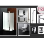 Bathroom Combo With 900mm Wall Hung Vanity + Mirror cabinet