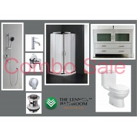 Bathroom Combo With 1200mm Freestanding vanity