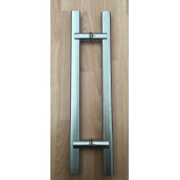 Stainless Steel Glass Door Handle YG882A 38x19x600L