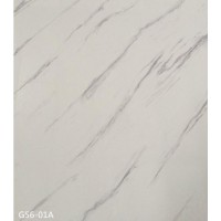 PVC UV Marble Stone Board - White Net Color