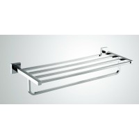Towel Shelf - Square Wall Hung Series 2100-12
