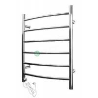 Heated Towel Rail Round 6 Bar ETW1-3 Right