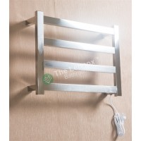 Heated Towel Rail Square 4 Bar Thick ETW13-2 Right