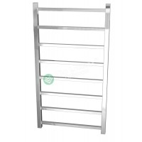 Heated Towel Rail Square 8 Bar ETW13-1 Right