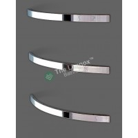Heated Towel Rack YW-2F Curved Square Right