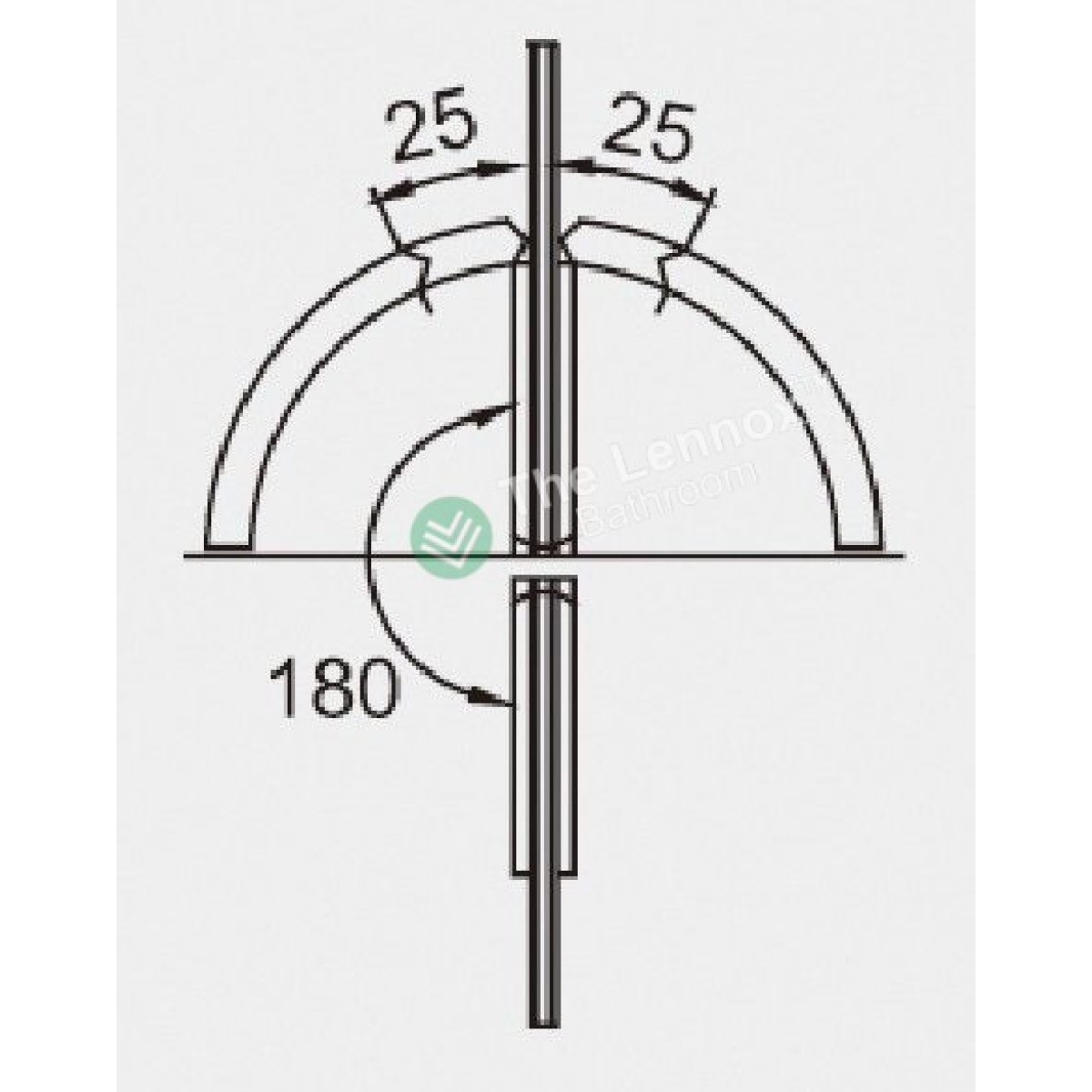 Glass to glass door hinges - Shower Door Hinges 180 Degree Glass To Glass
